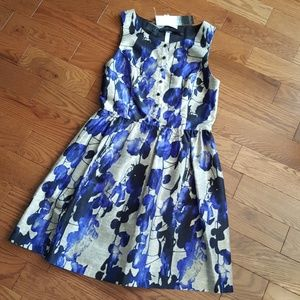 KENSIE cobalt combo dress